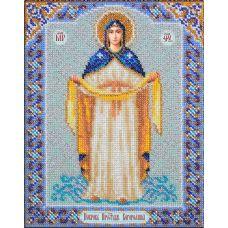 Вышивка бисером Богородица Покрова, 20x25, Паутинка