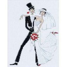 Набор для вышивания Свадебное танго, 20x26, Риолис, Сотвори сама