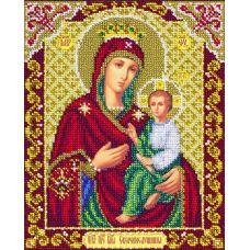 Вышивка бисером Богородица Скоропослушница, 20x25, Паутинка