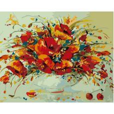 Раскраска Весенний вальс, 40x50, Белоснежка