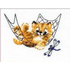 Набор для вышивания Тихий час, 16x13, Риолис Веселая пчёлка