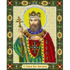Вышивка бисером Святой Константин, 20x25, Паутинка