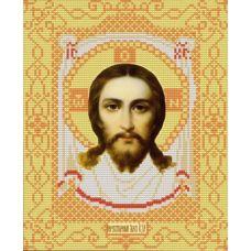 Ткань для вышивания бисером Спас Нерукотворный, 20х25, Конек