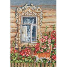 Набор для вышивания Деревенские узоры, 25x35, Овен