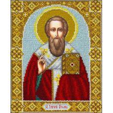 Вышивка бисером Святой Григорий Богослов, 20x25, Паутинка