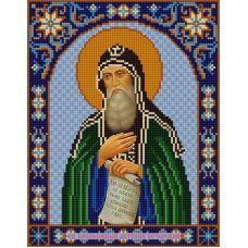 Ткань для вышивания бисером Святой Антоний, 20х25, Конек