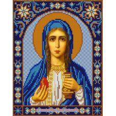 Ткань для вышивания бисером Святая Мария Магдалина, 20х25, Конек