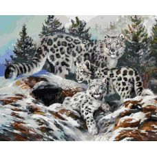 Картина по номерам Ирбисы, 40x50, Белоснежка