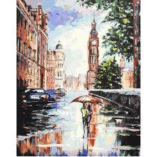 Живопись по номерам Лондонский мотив Ильи Морозова, 40x50, Белоснежка