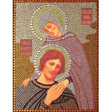 Вышивка термостразами Святые Петр и Феврония, Преобрана