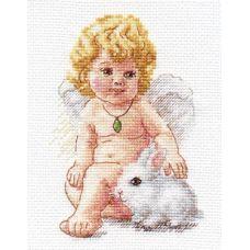 Вышивка Ангел Хранитель, 10x14, Алиса