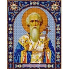 Ткань для вышивания бисером Святой Константин, 20х25, Конек