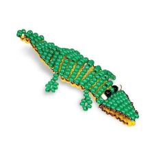 Игрушка Крокодил, Набор для бисероплетения, Кроше