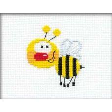 Набор для вышивания Пчелка, 16x13, Риолис Веселая пчёлка
