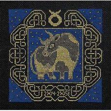 Набор для вышивания Телец, 25x25, Риолис, Сотвори сама