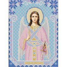 Ткань для вышивания бисером Ангел Хранитель, 20х25, Конек