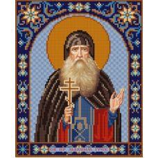 Ткань для вышивания бисером Святой Максим, 20х25, Конек