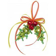 Набор для бисероплетения Игрушка Новогоднее украшение, 5х5, Риолис