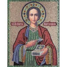 Вышивка термостразами Святой Пантелеймон, Преобрана