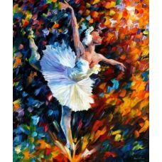 Раскраска Танец души, Л. Афремов, 40x50, Белоснежка