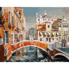 Картина по номерам Венеция. Кампьелло Кверини Стампалья, 40x50, Белоснежка