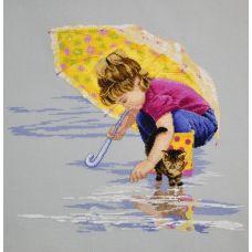 Набор для вышивания Солнечный зонтик, 40x36, Овен