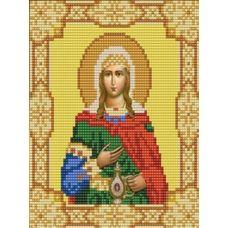 Ткань для вышивания бисером Святая Светлана, 15х18, Конек
