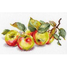 Вышивка Яблоки, 27x15, Алиса