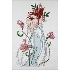Набор для вышивания крестиком Мадонна, 28х46, Астрея (Глурия, Фрея)