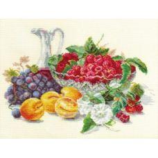 Вышивка Абрикосы и малина, 37x27, Алиса