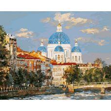 Живопись по номерам Троицкий собор, 40x50, Белоснежка