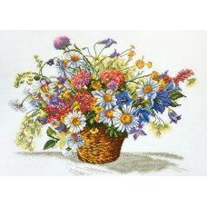 Набор для вышивания Луговые цветы, 40x31, Овен