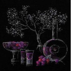 Набор для вышивания Натюрморт с ликёром, 30x30, Риолис, Сотвори сама