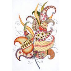 Набор для вышивания Волшебное перо, 21x30, Риолис, Сотвори сама