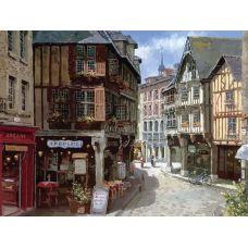 Раскраска Динан во Франции Сун Сэм Парка, 40x50, Белоснежка