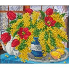Набор для вышивания Симфония весны, 31x26, Русская искусница