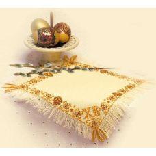 Набор для вышивания Салфетка. Христос воскресе, 26x26, Риолис, Сотвори сама