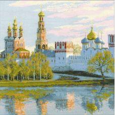 Набор для вышивания Москва. Новодевичий монастырь, 40x40, Риолис, Сотвори сама