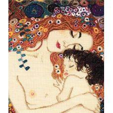 Набор для вышивания Материнская любовь. По мотивам картины Г. Климта, 30x35, Риолис, Сотвори сама