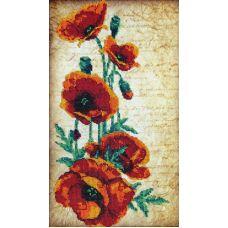 Вышивка бисером на шелке Влюбленность, 25x44, FeDi