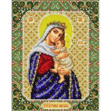 Вышивка бисером Богородица Отчаянных единая надежда, 20x25, Паутинка