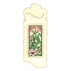 Набор для вышивания Закладка. Изящная лилия, 6x16, Риолис Сотвори сама