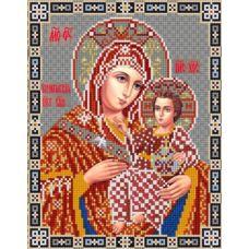 Ткань для вышивания бисером Богородица Вифлеемская, 20х25, Конек