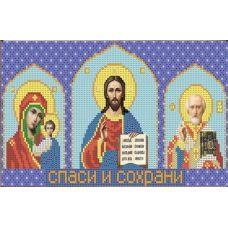 Ткань для вышивания бисером Домашний иконостас, 30х15, Конек