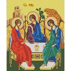 Ткань для вышивания бисером Святая Троица, 20х25, Конек