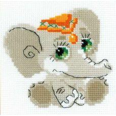 Набор для вышивания Слоник, 15x15, Риолис Веселая пчёлка