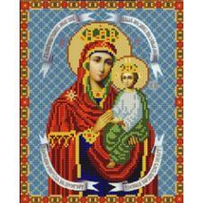 Ткань для вышивания бисером Богородица Споручница Грешных, 20х25, Конек