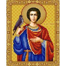 Ткань для вышивания бисером Святой Трифон, 20x25, Конек