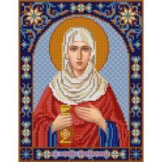 Ткань для вышивания бисером Святая Иоанна, 20х25, Конек