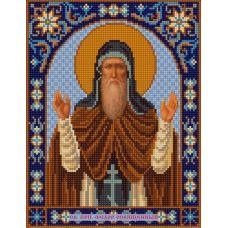 Ткань для вышивания бисером Святой Фёдор, 20х25, Конек